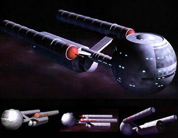 Daedalus class Star Trek Fact Files CGI model.jpg