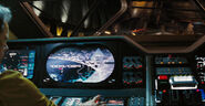 Military shuttle cockpit