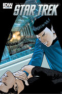 Star Trek - The Official Motion Picture Adaptation issue 5 cover