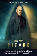 Star Trek Picard Season 1 Jean-Luc Picard poster