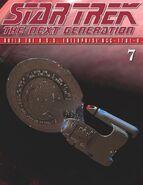 The Official Star Trek The Next Generation Build the Enterprise-D issue 7 magazine