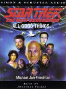 All Good Things audiobook cover, UK cassette edition