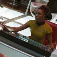 Enterprise bridge officer 3 2258, uniform