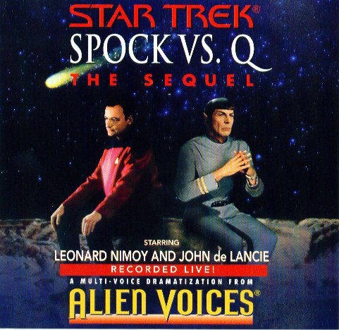 Spock Vs. Q: The Sequel