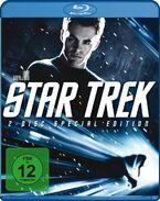 Star Trek 2 disc Blu-ray Region B German cover