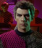 Tal, a Romulan subcommander.