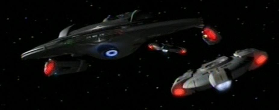 Unnamed Defiant class starships