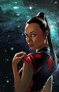 Countdown to darkness, couverture Uhura ébauche 2