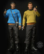 QMx 1-6th Scale Articulated Spock + Kirk