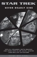 Seven Deadly Sins solicitation cover Summer 2009 catalog