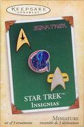 2004 Hallmark Star Trek Insignias