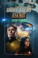 Ask Not publicity cover