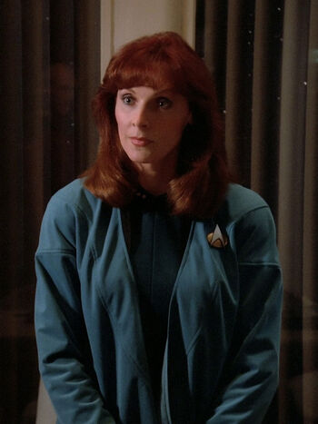 Dr. Beverly Crusher in 2364