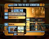 DVD-Menü TNG Staffel 6 Disc 7