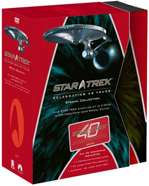 Star Trek: Celebrating 40 Years – The Movie Collection
