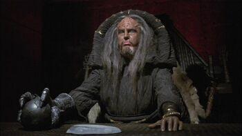 ...as the Klingon magistrate