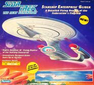 Playmates Enterprise-D Glider