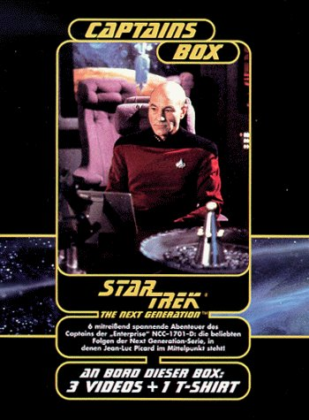 Star Trek: The Next Generation - Captains Box