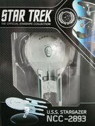 Star Trek Official Starships Collection USS Stargazer repack 15