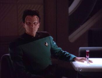 ...and his lieutenant uniform.