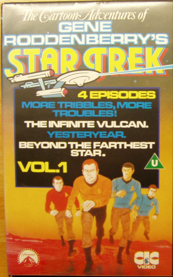 Star Trek: The Animated Series (VHS)