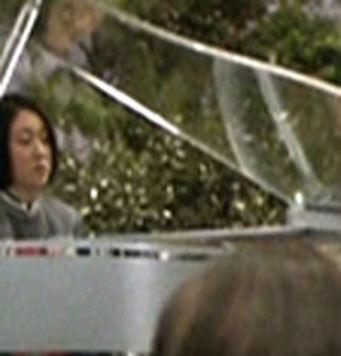 ...as a wedding pianist
