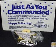 1995 Hallmark Communicator Pin