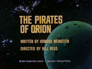 2x01 The Pirates of Orion title card