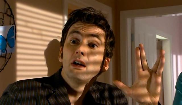 Parodien und Anspielungen auf Star Trek (Fernsehen)/Doctor Who