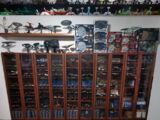 Star Trek starship miniatures