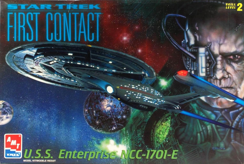 AMT Model kit 6326 USS Enterprise-E 1997.jpg