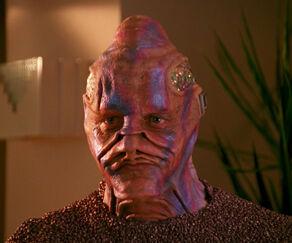 Boratus, a Vorgon male (2366)