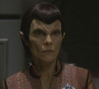Senator Kimara Cretak on Romulus (2375)