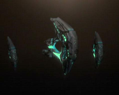 Night Alien ship