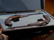 Trelane's dueling pistols