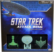Wizkids Star Trek Attack Wing game box
