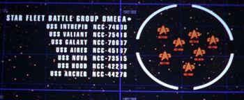 Star Fleet Battle Group Omega