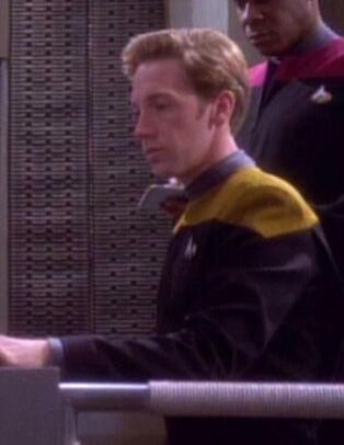 ... as a Starfleet ensign