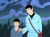 Stary i młody Spock