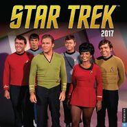 Star Trek Calendar 2017 cover