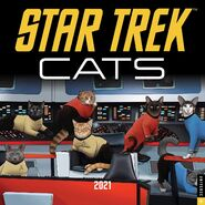 Star Trek Cats Calendar 2021