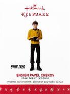 2016 Hallmark Ensign Pavel Chekov