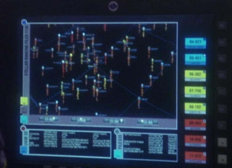 Vulcan star charts