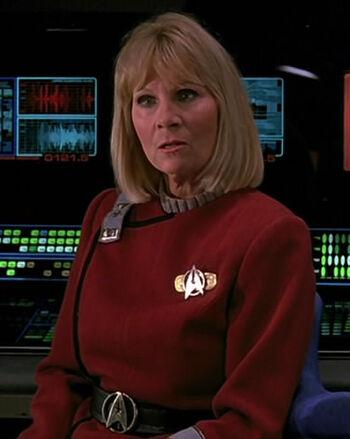 Lt. JG Janice Rand in 2293