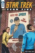 Star Trek Year Five issue 4 cover A