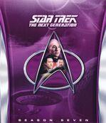 TNG Season 7 Blu-ray cover