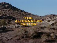 1x20 The Alternative Factor title card