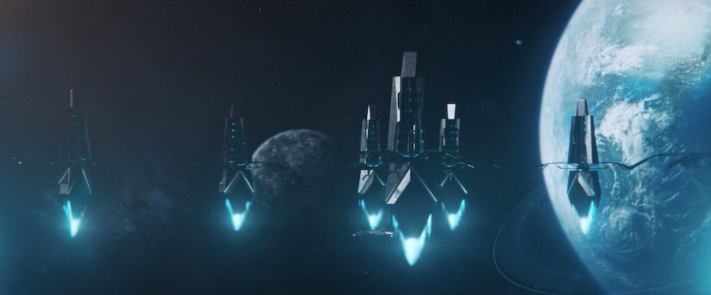 Ba'ul sentry ship
