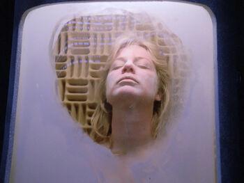 Frozen aboard a cryonics satellite