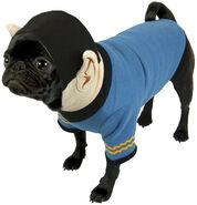 Crowded Coop Spock Hoodie Dog Costume